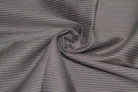 Tissu Coton/Elasthanne Marron de Qualité, Coupon 3 mètres