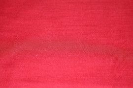 Voile Uni Polycoton Rouge