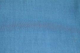 Voile Uni Polycoton Turquoise