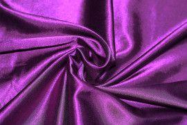 Tissu Satin Elasthanne Violet Coupon de 3 mètres