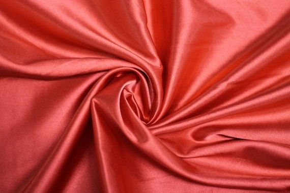 Satin Elasthanne Rouge