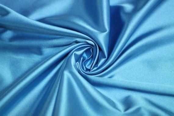 Satin Elasthanne Turquoise