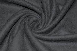 Tissu Drap de Laine Noir -Au Mètre