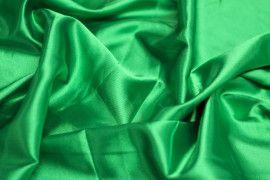 Satin Elasthanne Vert