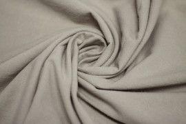 Tissu Coton Epais Uni Beige Coupon de 3 metres