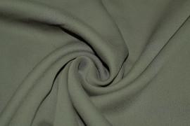 Tissu Crêpe Georgette Kaki Coupon de 3 mètres