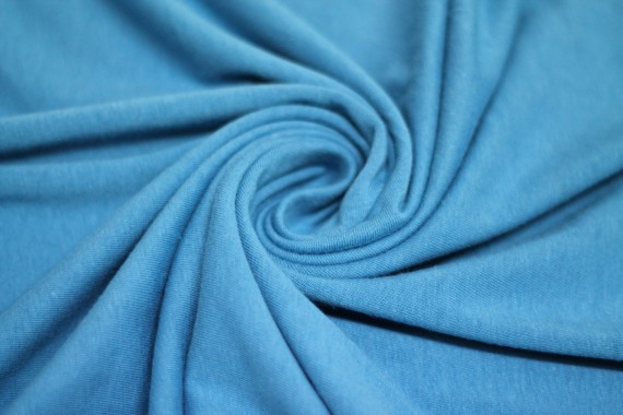 Jersey Coton Turquoise