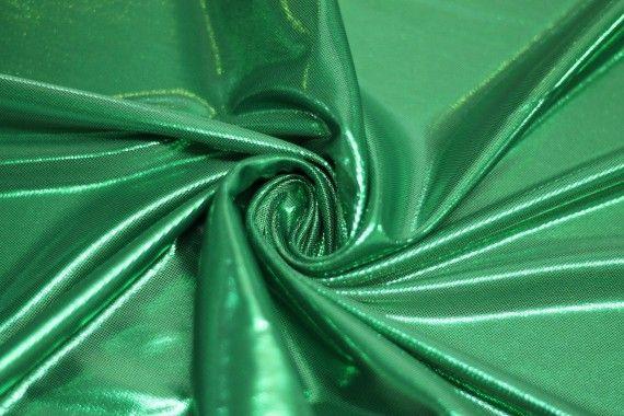 Lamé Lazer Fluide Vert
