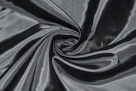 Tissu Taffetas Noire -Au Metre