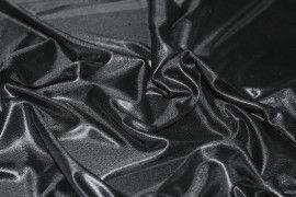 Lamé Lazer Fluide Noir