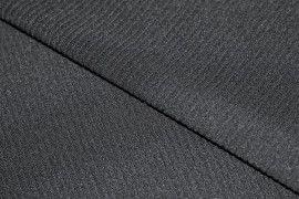 Ottoman (rayure large) Noir