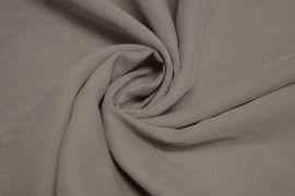 Tissu Mousseline Unie Taupe Coupon de 3 mètres