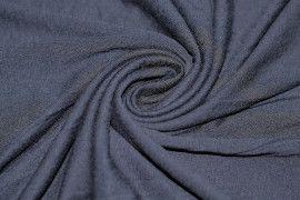Tissu Jersey Viscose Marine -Au Metre