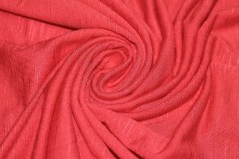 Tissu Jersey Flamme Rouge Coupon de 3 metres