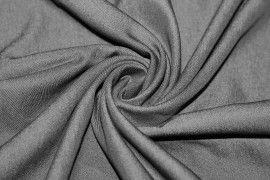 Tissu Jeans Tencel Noir Coupon de 3 mètres