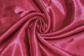Tissu Doublure Satin Bordeaux Grande Largeur Coupon de 3 mètres