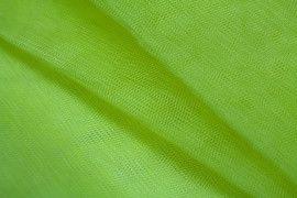 Tissu Tulle Raide Jaune Vif Coupon de 3 mètres