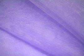 Tissu Tulle Raide Parme Coupon de 3 mètres