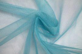 Tissu Tulle Raide Turquoise Coupon de 3 mètres