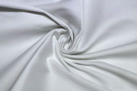 Tissu Coton Uni Vegas Blanc Coupon de 3 Mètres