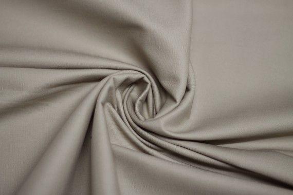 Tissu Coton Uni Vegas Beige Coupon de 3 Mètres