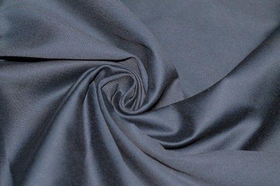 Tissu Coton Uni Vegas Marine Coupon de 3 Mètres