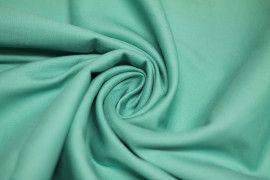 Tissu Satin de Coton Vegas Lagon Coupon de 3 Metres