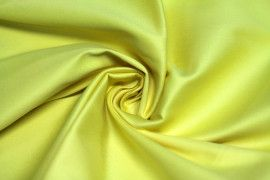 Tissu Coton Uni Vegas Jaune Au Mètre