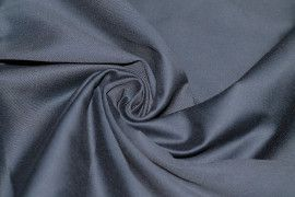 Tissu Coton Uni Vegas Marine Au Mètre
