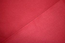 Tissu Coton Uni Vegas Rouge Au Mètre