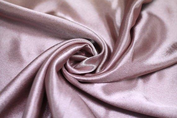 Tissu Doublure Satin Rose des Bois Grande Largeur -Au Mètre