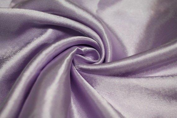 Tissu Doublure Satin Parme Grande Largeur -Au Mètre