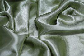 Tissu Doublure Satin Pistache Clair Grande Largeur -Au Mètre