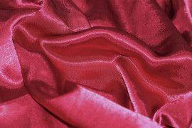 Tissu Doublure Satin Bordeaux Grande Largeur -Au Mètre