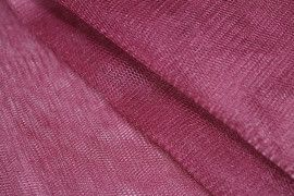 Tissu Tulle Raide Prune -Au Mètre