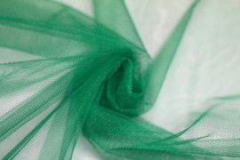 Tissu Tulle Raide Vert Drapeau -Au Mètre