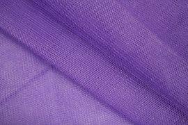Tissu Tulle Raide Violet -Au Mètre