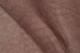 Tissu Tulle Raide Choco -Au Mètre