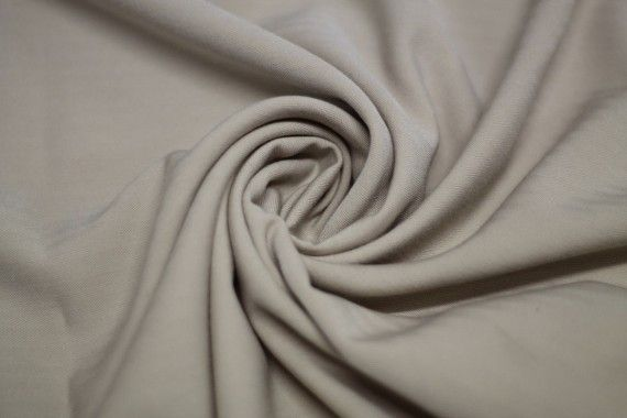 Twill Lisa Chevron Costumes Beige Coupon de 3 Mètres