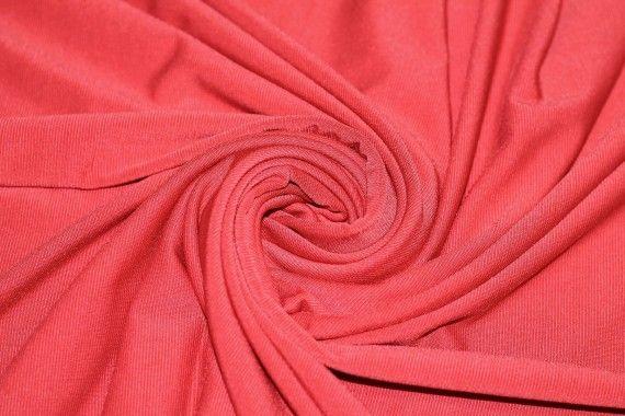 """Tissu """"Lycra"""" Pitch Rouge Coupon de 3 Mètres"""