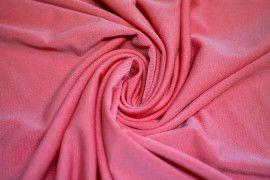 "Tissu ""Lycra"" Pitch Corail -Coupon de 3 Mètres"