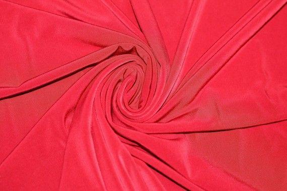 """Tissu """"Lycra"""" Venezia Rouge Coupon de 3 Mètres"""