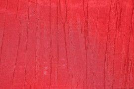 Tissu Taffetas Plissé Rouge -Au Mètre