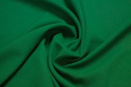 Tissu Burlington Uni Vert -Au Mètre