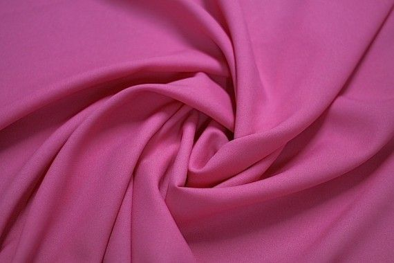 Tissu Burlington Uni Rose -Coupon de 3 mètres