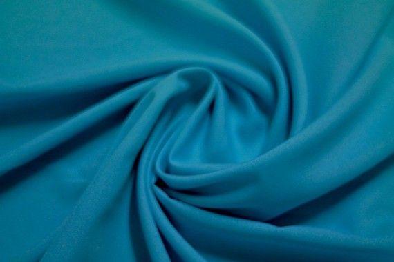 Tissu Burlington Uni Turquoise -Coupon de 3 mètres