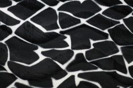 Tissu Fourrure synthétique Biche -Au Mètre