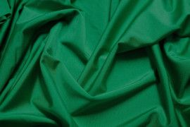 Tissu Lycra Brillant Vert-Au Mètre