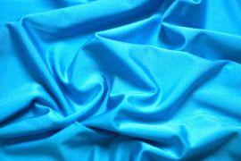 Tissu Lycra Brillant Turquoise -Au Mètre