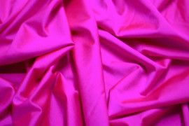 Tissu Lycra Brillant Fuchsia Fluo -Au Mètre